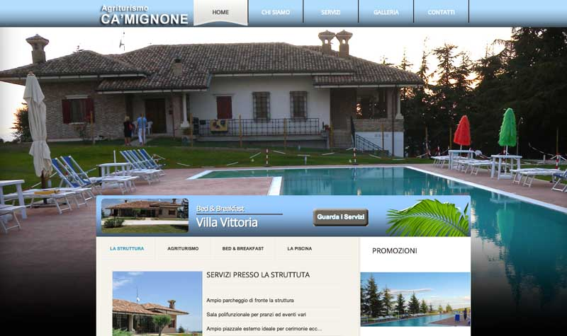AgriturismoCaMignone.it